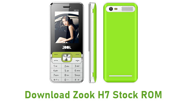 Download Zook H7 Stock ROM