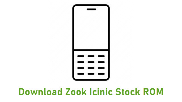 Download Zook Icinic Stock ROM