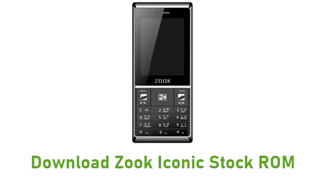 Download Zook Iconic Stock ROM