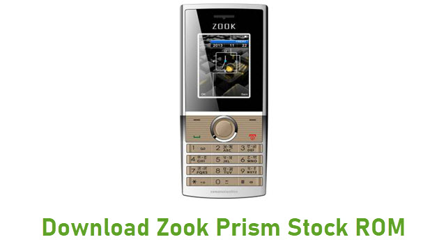 Download Zook Prism Stock ROM