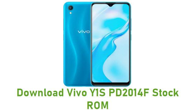 Vivo Y1S PD2014F Stock ROM