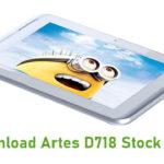Artes D718 Stock ROM