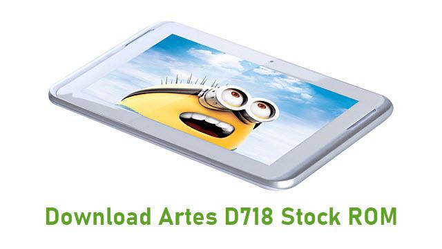 Download Artes D718 Stock ROM