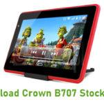 Crown B707 Stock ROM