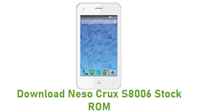 Download Neso Crux S8006 Stock ROM