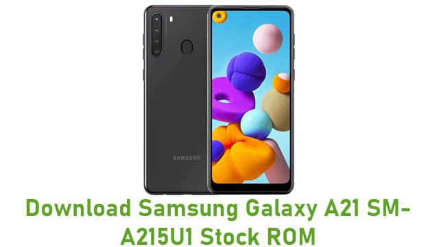 Download Samsung Galaxy A21 SM-A215U1 Stock ROM