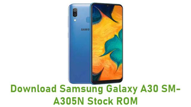 Download Samsung Galaxy A30 SM-A305N Stock ROM