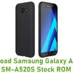 Samsung Galaxy A5 2017 SM-A520S Stock ROM