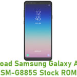 Samsung Galaxy A8 Star SM-G885S Stock ROM