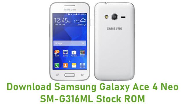 Download Samsung Galaxy Ace 4 Neo SM-G316ML Stock ROM