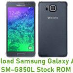 Samsung Galaxy Alpha SM-G850L Stock ROM