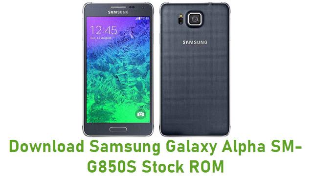 Download Samsung Galaxy Alpha SM-G850S Stock ROM