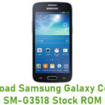Samsung Galaxy Core 4G SM-G3518 Stock ROM