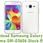 Samsung Galaxy Core Prime SM-G3606 Stock ROM