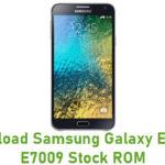Samsung Galaxy E7 SM-E7009 Stock ROM