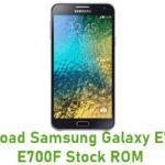 Samsung Galaxy E7 SM-E700F Stock ROM
