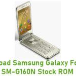 Download Samsung Galaxy Folder 2 SM-G160N Stock ROM