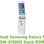 Download Samsung Galaxy Folder SM-G150N0 Stock ROM
