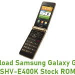 Samsung Galaxy Golden SHV-E400K Stock ROM