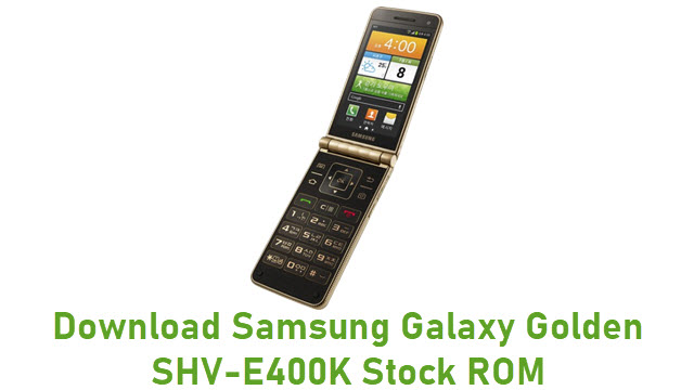 Download Samsung Galaxy Golden SHV-E400K Stock ROM
