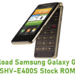Samsung Galaxy Golden SHV-E400S Stock ROM