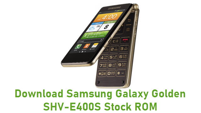 Download Samsung Galaxy Golden SHV-E400S Stock ROM