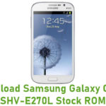 Samsung Galaxy Grand SHV-E270L Stock ROM