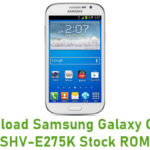 Samsung Galaxy Grand SHV-E275K Stock ROM