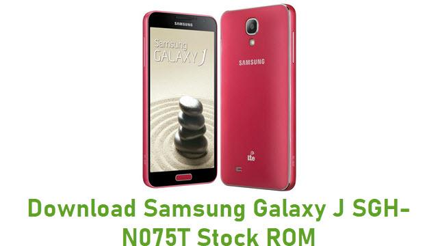 Download Samsung Galaxy J SGH-N075T Stock ROM
