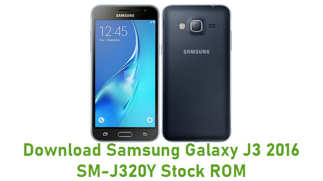 Download Samsung Galaxy J3 2016 SM-J320Y Stock ROM