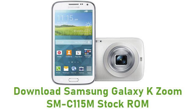 Download Samsung Galaxy K Zoom SM-C115M Stock ROM