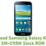 Samsung Galaxy K Zoom SM-C115W Stock ROM