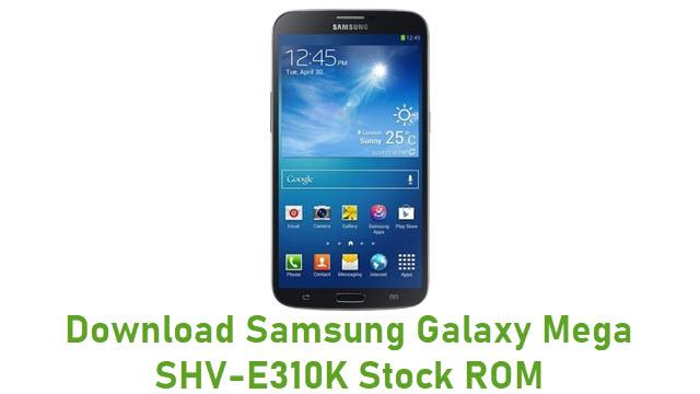 Download Samsung Galaxy Mega SHV-E310K Stock ROM