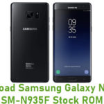 Samsung Galaxy Note FE SM-N935F Stock ROM