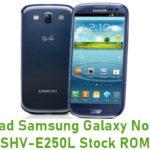 Samsung Galaxy Note II LTE SHV-E250L Stock ROM