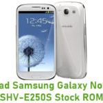 Samsung Galaxy Note II LTE SHV-E250S Stock ROM