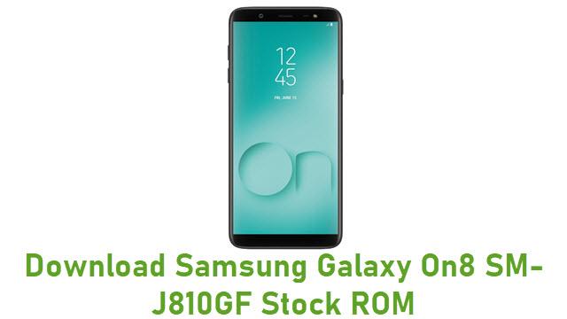 Download Samsung Galaxy On8 SM-J810GF Stock ROM