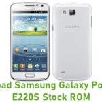 Samsung Galaxy Pop SHV-E220S Stock ROM