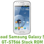 Samsung Galaxy S Duos GT-S7566 Stock ROM