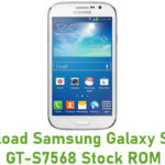 Samsung Galaxy S Duos GT-S7568 Stock ROM