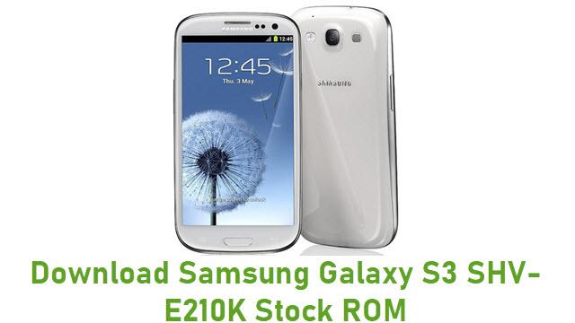 Download Samsung Galaxy S3 SHV-E210K Stock ROM
