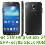 Samsung Galaxy S4 Active SHV-E470S Stock ROM
