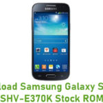 Samsung Galaxy S4 Mini SHV-E370K Stock ROM
