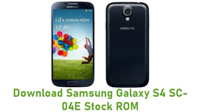 Download Samsung Galaxy S4 SC-04E Stock ROM