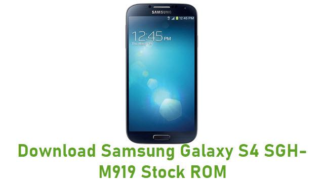 Download Samsung Galaxy S4 SGH-M919 Stock ROM