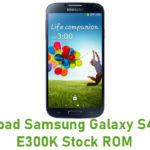 Samsung Galaxy S4 SHV-E300K Stock ROM
