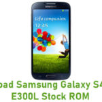 Samsung Galaxy S4 SHV-E300L Stock ROM