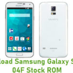 Samsung Galaxy S5 SC-04F Stock ROM