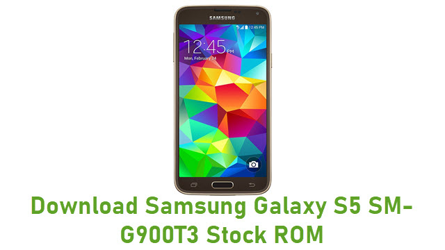 Download Samsung Galaxy S5 SM-G900T3 Stock ROM