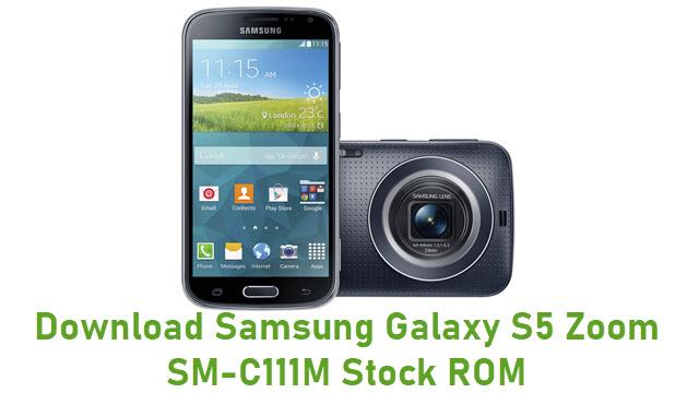 Download Samsung Galaxy S5 Zoom SM-C111M Stock ROM